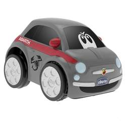 Voiture Turbo Touch Fiat 500 grise