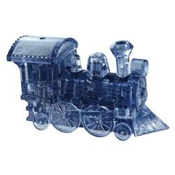 Crystal puzzle 3D locomotive