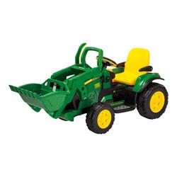 Tracteur John Deere Loader 12V avec pelleteuse