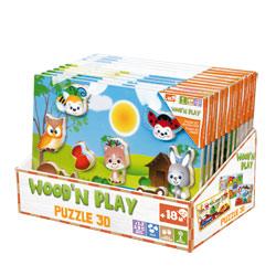 Puzzle bois 30 x 21 cm 3D