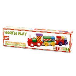 Train en bois petit modèle