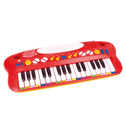 Clavier 32 touches rouge