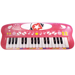 Clavier 32 touches rose