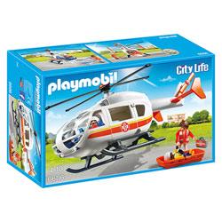 6686 - Hélicoptère médical - Playmobil City Life