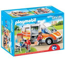 6685 - Playmobil City Life - Ambulance avec gyrophare et sirène