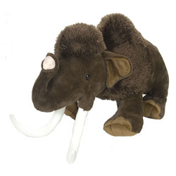 Peluche Mammouth laineux 104 cm