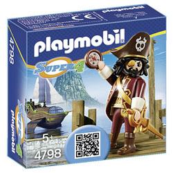 4798-Barbe de requin  - Playmobil Super4