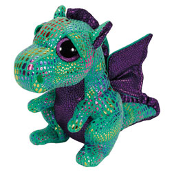 Peluche Beanie Boo's Medium Cinder Le Dragon