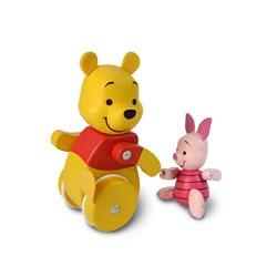 Figurine Winnie l'ourson en route les amis