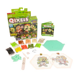 Qixels mini kit glow in the dark zombies