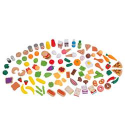 Assortiments d'aliments