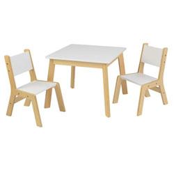Ensemble Table Moderne avec 2 chaises