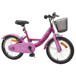 Vélo 16 pouces rose
