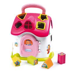 Cotoons maison des formes électronique - rose