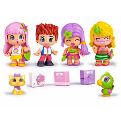 Pinypon Coffret 4 Figurines