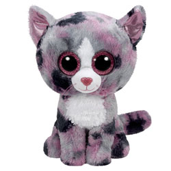 Peluche Beanie Boo's Small Lindi le Chat
