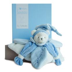 J'aime mon Doudou Collector Ours Bleu 24 cm