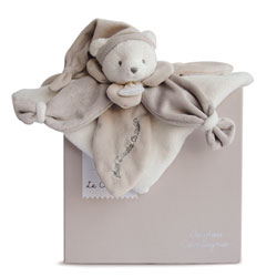 J'aime mon Doudou Collector Ours Taupe 24 cm