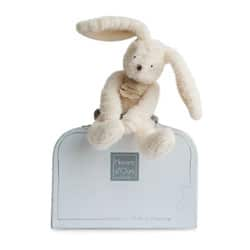 Peluche Sweety Couture lapin blanc 24 cm