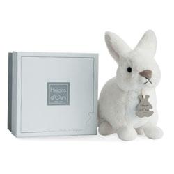 Peluche Lapidoux Blanc 20 cm