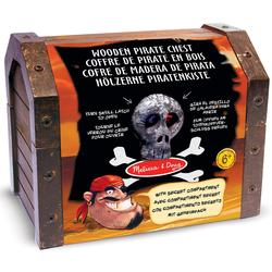 Coffre de pirate en bois