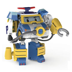 Robocar Poli-Véhicule Transformable Poli Action Pack Diving