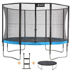 Trampoline Punchi ATOLL 360 avec échelle et couverture