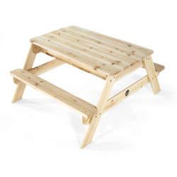 Table de jardin bac à sable