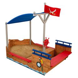 Bac à sable Bateau Pirates