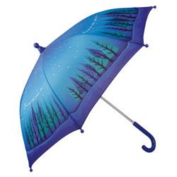 Parapluie bleu