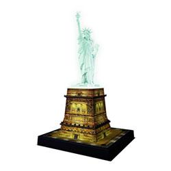 Puzzle 3D statue de la liberté LED 108 pièces