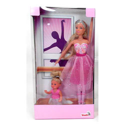 Lolly ballerine avec Lolly kid