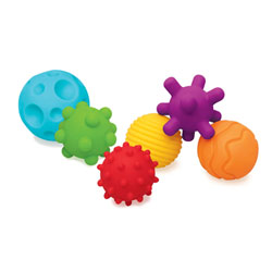 6 balles sensorielles
