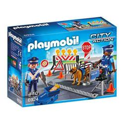 6924 - Barrage de Police - Playmobil City Action