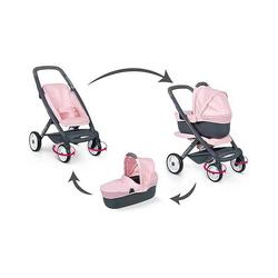 Bébé confort - combi poussette + landau 3 en 1 - roues silencieuses
