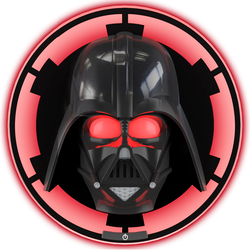 Star Wars - Applique murale Masque lumineux de Dark Vador