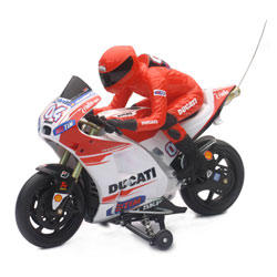 Moto radiocommandée Ducati 1/9