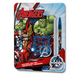 Set carnet Avengers