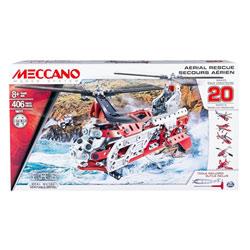 Hélicoptère 20 modèles Meccano