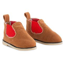 Boots marron ma corolle