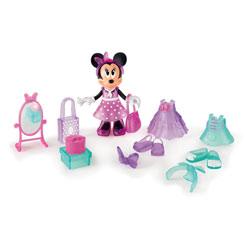 Minnie fashionista shopping