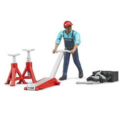 Set mecanicien BWorld avec figurine et accessoires