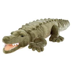 Peluche crocodile marin 76 cm