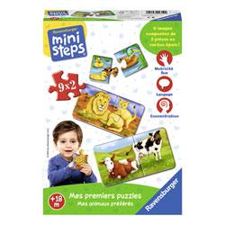 Mes premiers puzzles-mes animaux preferes