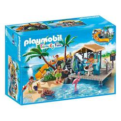 6979 - Ile avec vacanciers - Playmobil Family fun