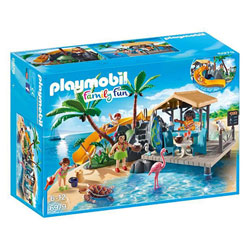 6979 - Ile avec vacanciers - Playmobil Family fun