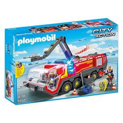 5337 - Pompiers avec véhicule aéroportuaire - Playmobil City Action