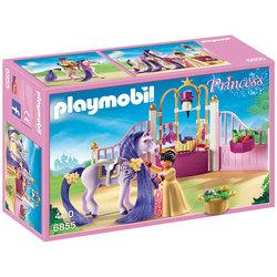 6855 - Ecurie avec cheval à coiffer et princesse - Playmobil Princess