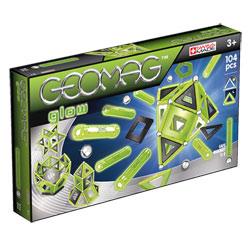 Geomag Glow Phosphorescents 104 pièces