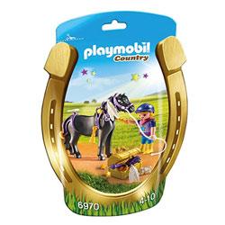 6970-Poney à décorer étoiles - Playmobil Country